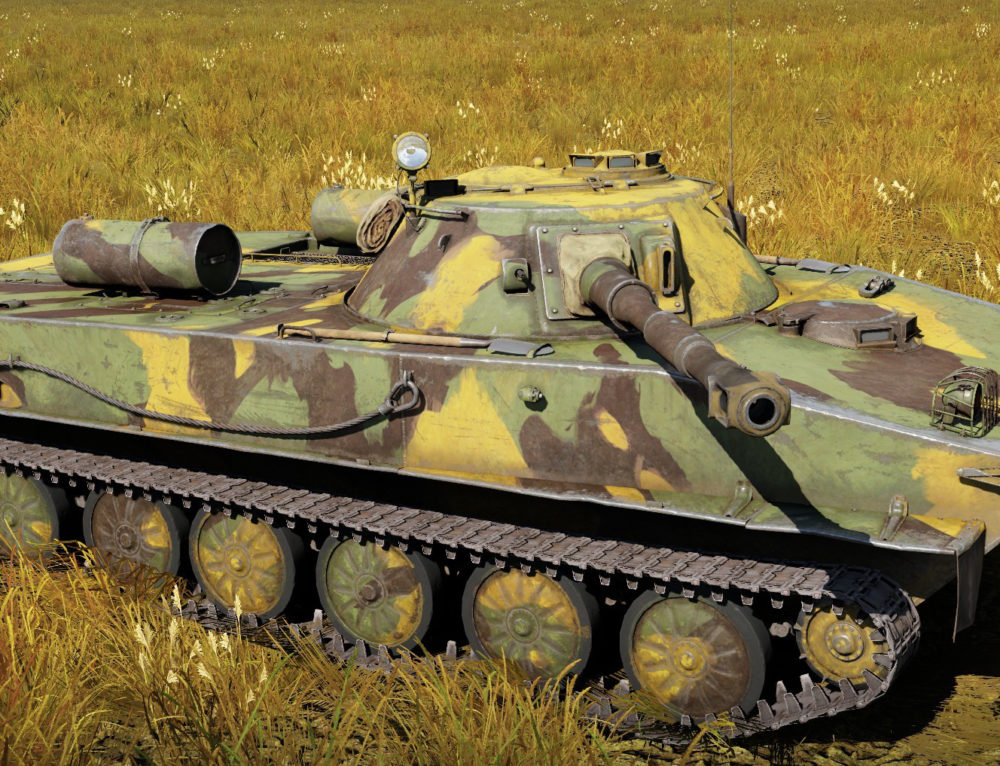 ПТ-76 — легкий танк IV ранга