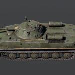 Советский танк ПТ-76