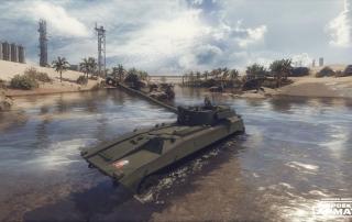 САУ «Гвоздика» в Armored Warfare: Проект Армата