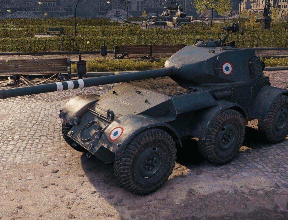 Hotchkiss EBR в World of Tanks