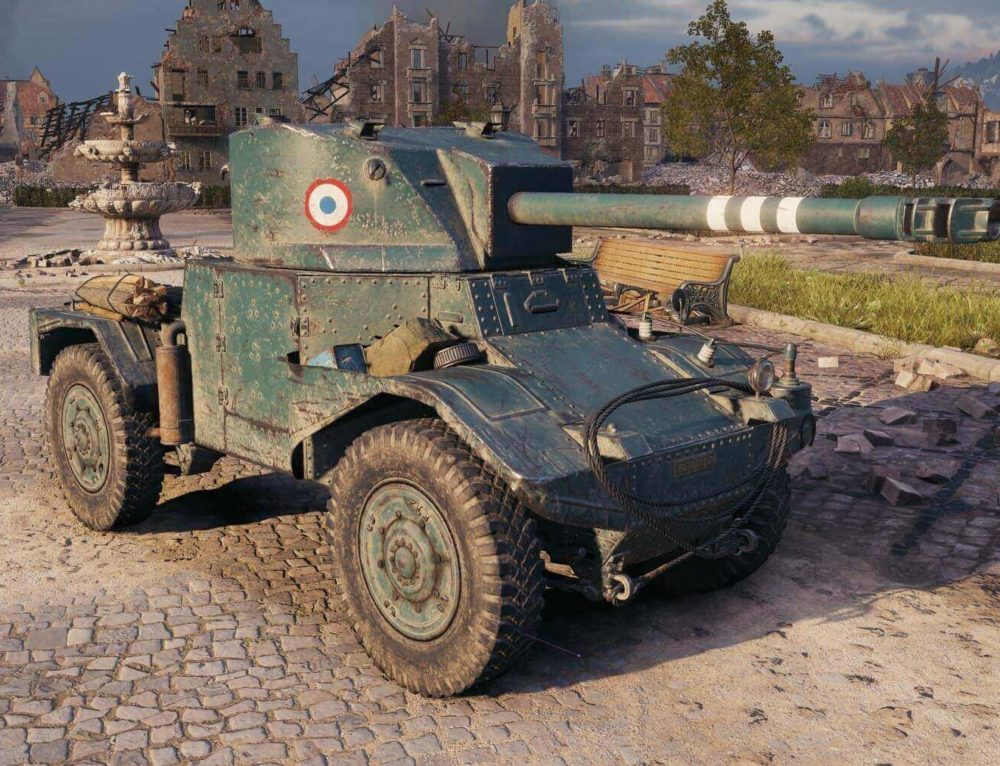 Panhard AMD 178В в World of Tanks