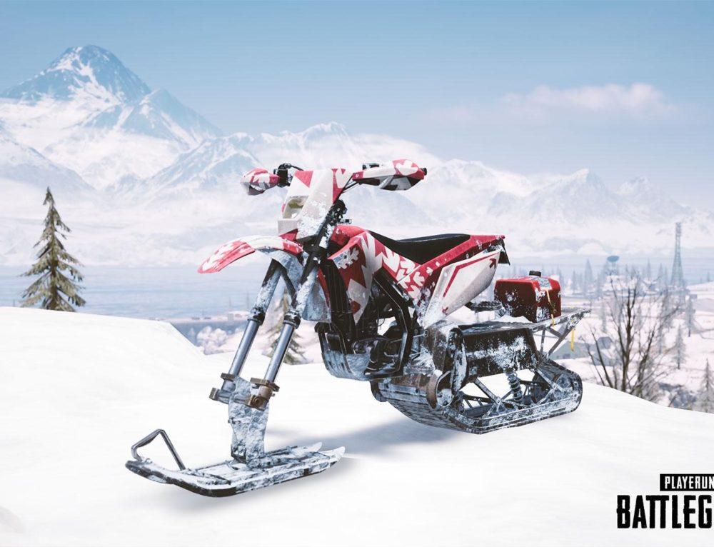 Snowbike PUBG