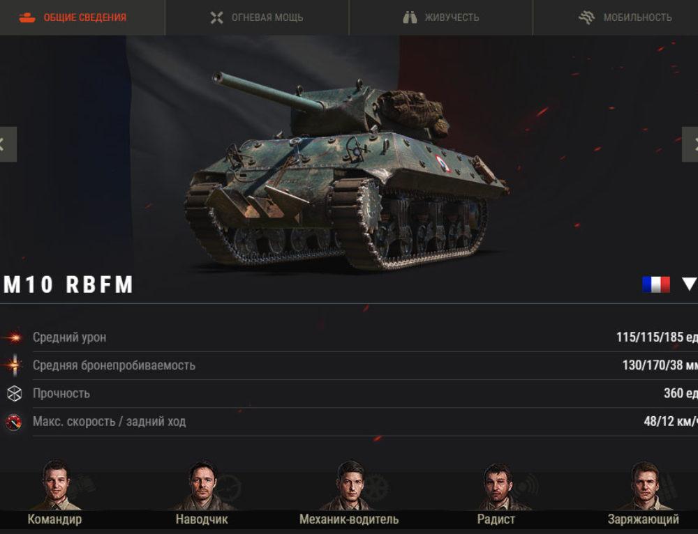 M10 RBFM в World of Tanks