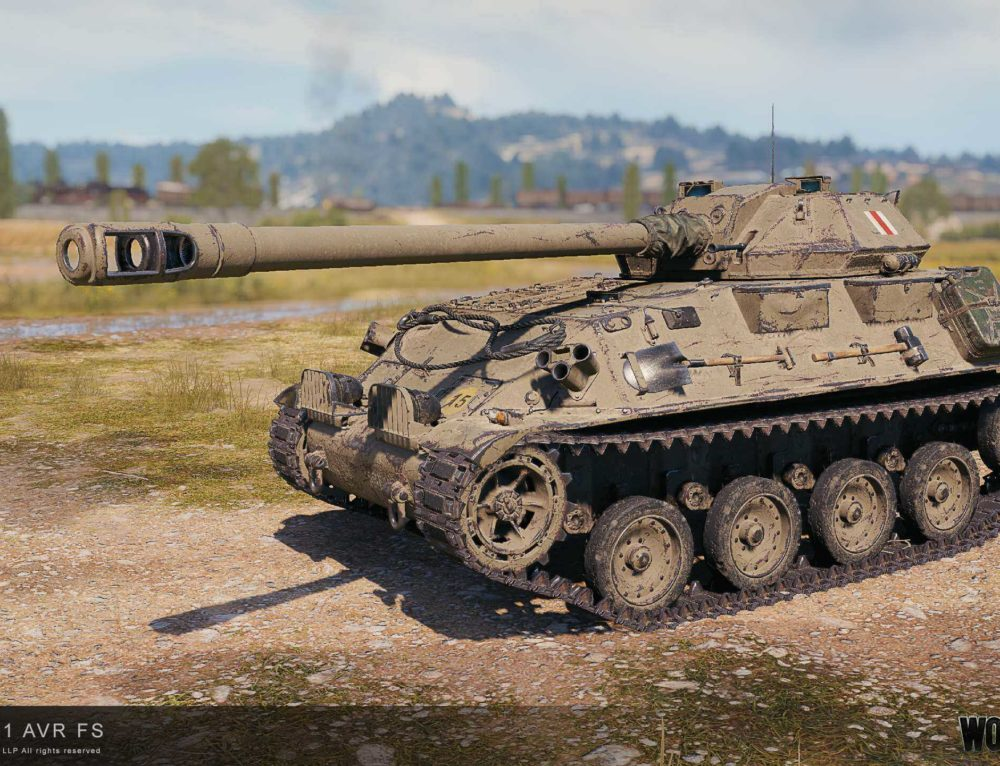 GSOR3301 AVR FS — World of Tanks
