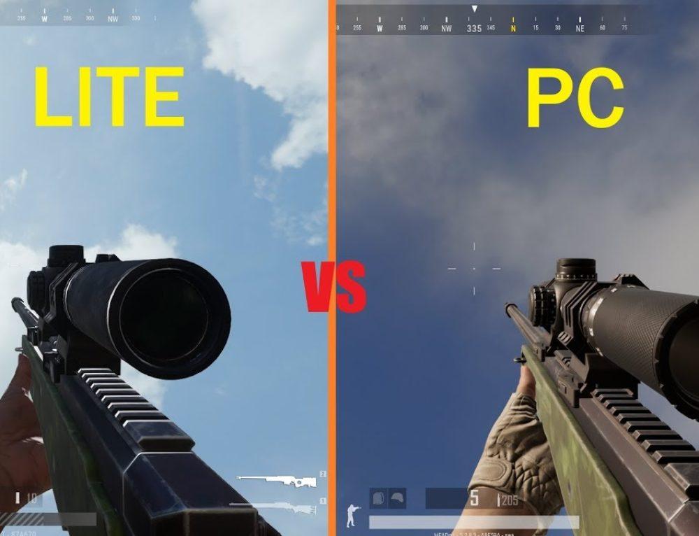 Чем отличается PUBG от PUBG Lite