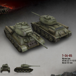 Т-34-85 — советский СТ VI уровня