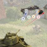 Пробитие препятствий бронебойными и подкалиберными снарядами