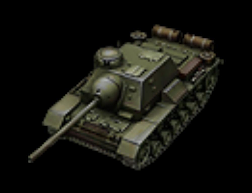 Су-85и — советская ПТ-САУ V уровня