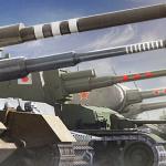 Отметки на стволах орудий World of Tanks