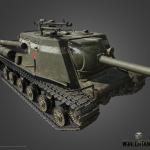 ИСУ-122С — советская ПТ-САУ VII уровня