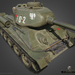 Т-34-85 Rudy — советский СТ VI уровня