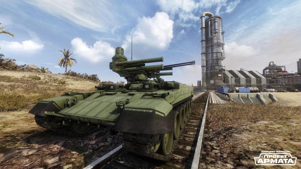 Игровые классы: боевые бронированные машины