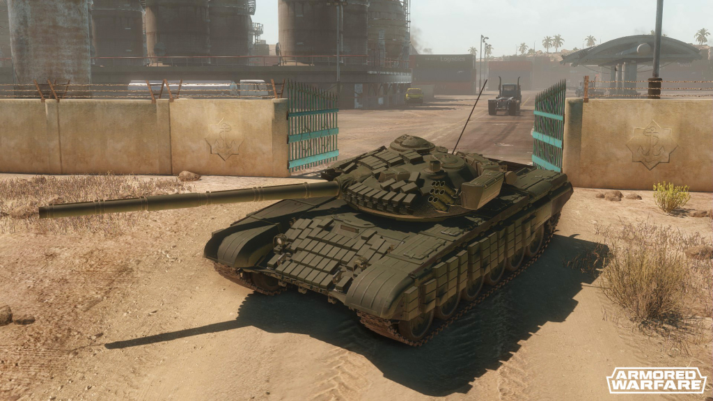 Новая техника: Т-72А