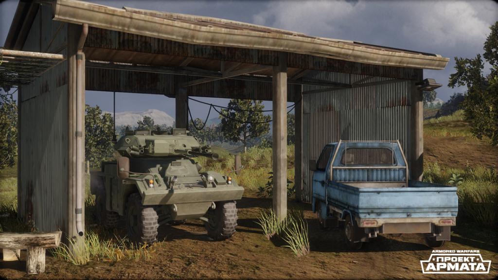 FV721 Fox в Armored Warfare: Проект Армата