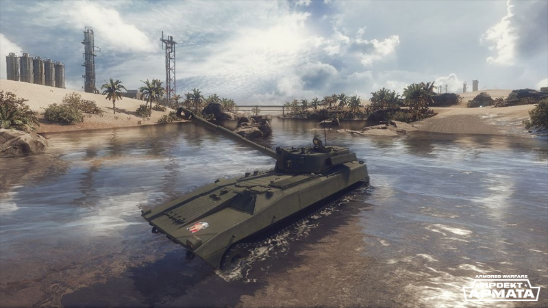 САУ «Гвоздика» в Armored Warfare: Проект Армата