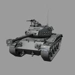 leKpz M 41 — немецкий ЛТ VII уровня