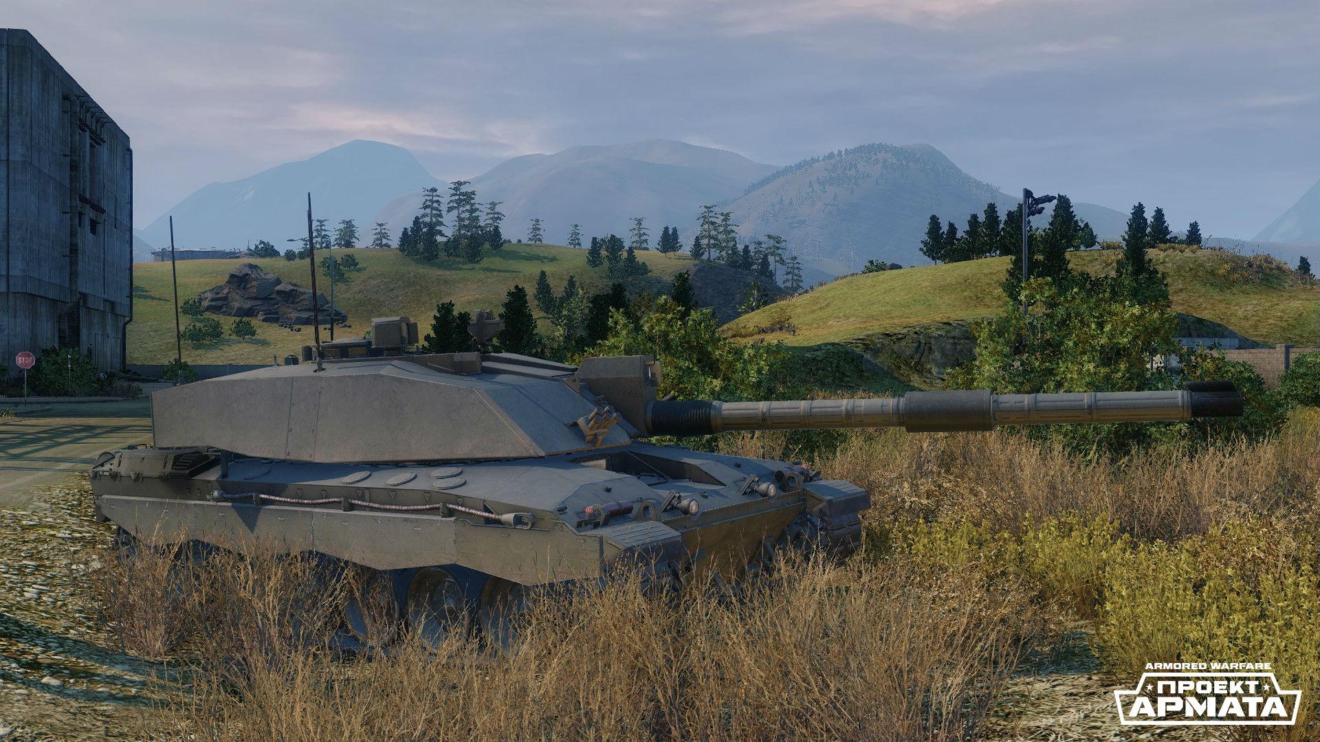 Challenger 2 от Vickers Defense Systems — самый современный британский ОБТ