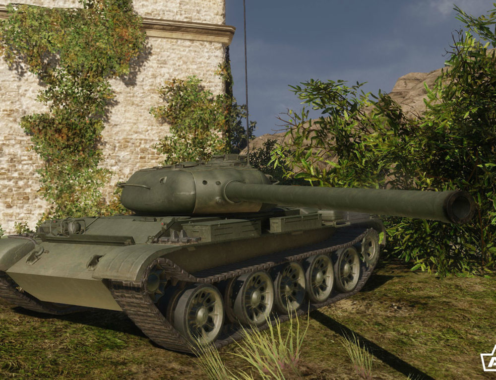 Т-54 в Armored Warfare