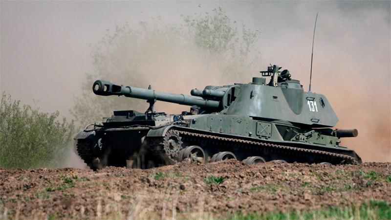 Советская дивизионная самоходная гаубица 2С3 «Акация»