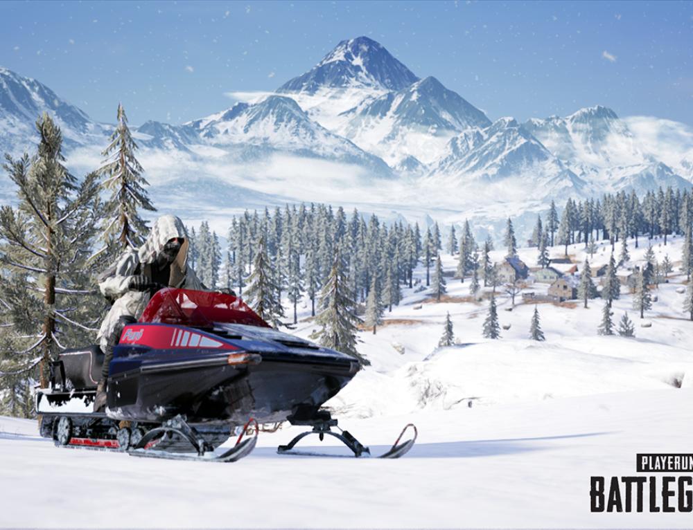 Furo Snowmobile (Снегоход) PUBG