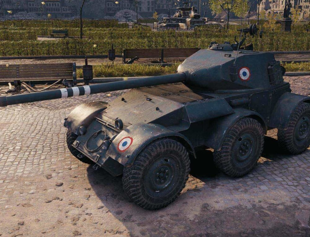 Hotchkiss EBR в World of Tanks