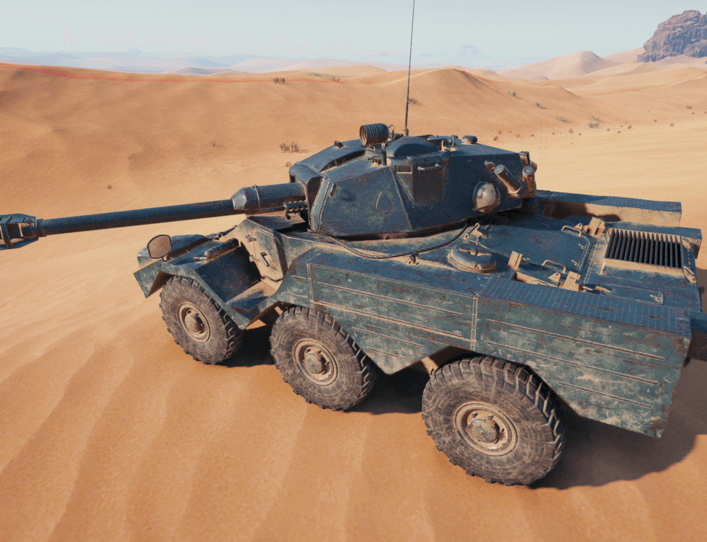 Panhard AML Lynx 6×6 в World of Tanks
