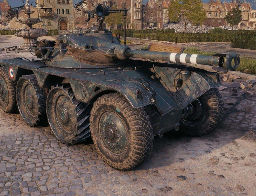 Panhard EBR 90 в World of Tanks